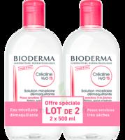 Crealine Ts H2o Solution Micellaire Sans Parfum Nettoyante Apaisante 2fl/500ml à VITRE