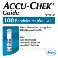 Accu-chek Guide Bandelettes 2 X 50 Bandelettes à VITRE