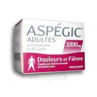 Aspegic Adultes 1000 Mg, Poudre Pour Solution Buvable En Sachet-dose 20 à VITRE
