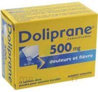 Doliprane 500 Mg Poudre Pour Solution Buvable En Sachet-dose B/12 à VITRE
