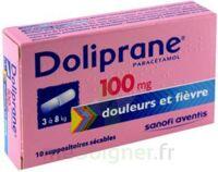 Doliprane 100 Mg Suppositoires Sécables 2plq/5 (10) à VITRE