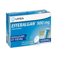 EFFERALGAN 500 mg, comprimé orodispersible à VITRE