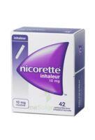 NICORETTE INHALEUR 10 mg Cartouche p inh bucc inhalation buccale B/42 à VITRE