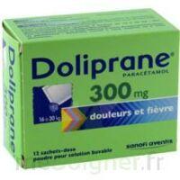 Doliprane 300 Mg Poudre Pour Solution Buvable En Sachet-dose B/12 à VITRE