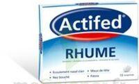 ACTIFED RHUME, comprimé à VITRE