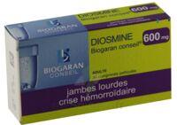 Diosmine Biogaran Conseil 600 Mg, Comprimé Pelliculé à VITRE