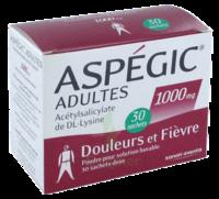Aspegic Adultes 1000 Mg, Poudre Pour Solution Buvable En Sachet-dose 30 à VITRE