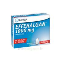 Efferalgan 1000 Mg Comprimés Pelliculés Plq/8 à VITRE