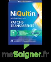 NIQUITIN 21 mg/24 heures, dispositif transdermique Sach/28 à VITRE