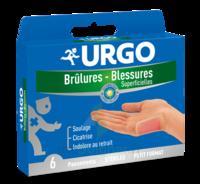 URGO BRULURES-BLESSURES PETIT FORMAT x 6 à VITRE