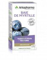 Arkogélules Myrtille baies Gélules Fl/45 à VITRE