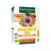 Santarome Bio Immunité Solution buvable 20 Ampoules/10ml à VITRE