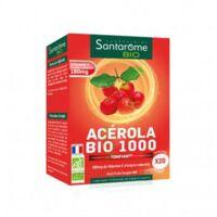 Santarome Bio Acérola 1000 Comprimés à croquer 2T/10 à VITRE