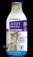 4321 Minceur 4 Actions Solution buvable Fl/280ml à VITRE