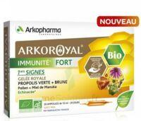 Arkoroyal Immunité Fort Solution Buvable 20 Ampoules/10ml à VITRE