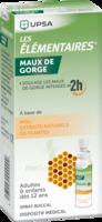 LES ELEMENTAIRES Solution buccale maux de gorge adulte 30ml à VITRE