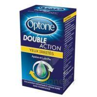 Optone Double Action Solution Oculaire Yeux Irrités Fl/10ml à VITRE