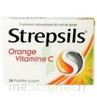 Strepsils Orange Vitamine C, Pastille à VITRE