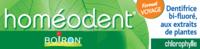 Boiron Homéodent Soin Complet Dents et Gencives Pâte Dentifrice Chlorophylle Format Voyage T/25ml à VITRE
