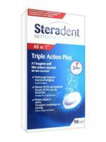 STERADENT TRIPLE ACTION, tube 30, bt 3 à VITRE
