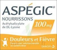 Aspegic Nourrissons 100 Mg, Poudre Pour Solution Buvable En Sachet-dose à VITRE