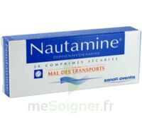 NAUTAMINE, comprimé sécable à VITRE