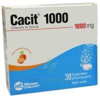 Cacit 1000 Mg, Comprimé Effervescent à VITRE
