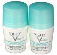 VICHY TRAITEMENT ANTITRANSPIRANT BILLE 48H, fl 50 ml, lot 2 à VITRE