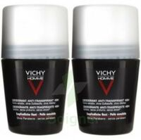VICHY ANTI-TRANSPIRANT HOMME Bille anti-trace 48h LOT à VITRE