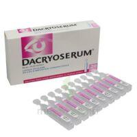 DACRYOSERUM Solution pour lavage ophtalmique en récipient unidose 20Unidoses/5ml à VITRE