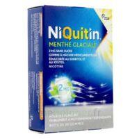 Niquitin 2 Mg Gom à Mâcher Médic Menthe Glaciale Sans Sucre Plq Pvc/pvdc/alu/30 à VITRE