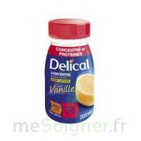 DELICAL BOISSON HP HC CONCENTREE Nutriment vanille 4Bouteilles/200ml à VITRE