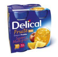 DELICAL BOISSON FRUITEE Nutriment multi fruits 4Bouteilles/200ml à VITRE
