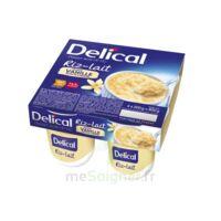 Delical Riz Au Lait Nutriment Vanille 4pots/200g à VITRE