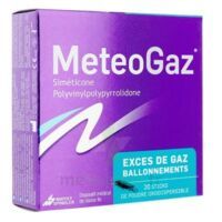 METEOGAZ Poudre orodispersible 20 sticks à VITRE