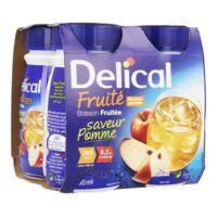 Delical Boisson Fruitee Nutriment Pomme 4bouteilles/200ml à VITRE