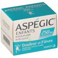 Aspegic Enfants 250, Poudre Pour Solution Buvable En Sachet-dose à VITRE