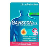 GAVISCONELL Suspension buvable sachet-dose menthe sans sucre 12Sach/10ml à VITRE