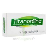 TITANOREINE Suppositoires B/12 à VITRE