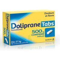 DOLIPRANETABS 500 mg Comprimés pelliculés Plq/16 à VITRE