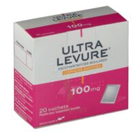 Ultra-levure 100 Mg Poudre Pour Suspension Buvable En Sachet B/20 à VITRE