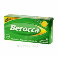 Berocca Comprimés effervescents sans sucre T/30 à VITRE