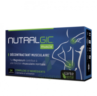 Nutralgic Muscle Comprimés Décontractant Musculaire B/14 à VITRE