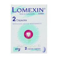 Lomexin 600 Mg Caps Molle Vaginale Plq/2 à VITRE