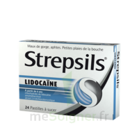 Strepsils lidocaïne Pastilles Plq/24 à VITRE