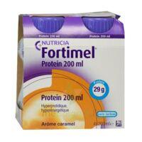 Fortimel Protein Nutriment caramel 4 Bouteilles/200ml à VITRE