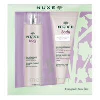 Nuxe Body Eau délassante parfumante Spray/100ml+Gel douche à VITRE