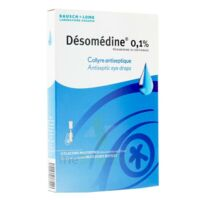 DESOMEDINE 0,1 % Collyre sol 10Fl/0,6ml à VITRE