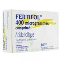 Fertifol 400 µg Cpr Plq/90 à VITRE