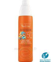 Avène Eau Thermale Solaire Spray Enfant 50+ 200ml à VITRE